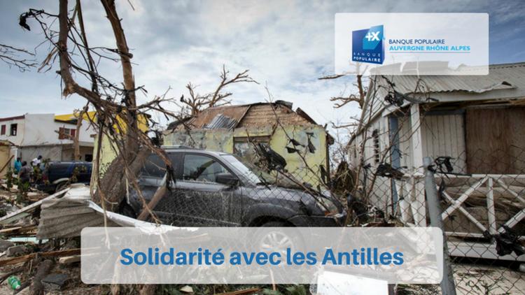 Solidarité avec les Antilles : Ouragan Irma
