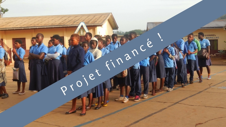 A future for 15 young people : School enrolment for 15 young Cameroon people