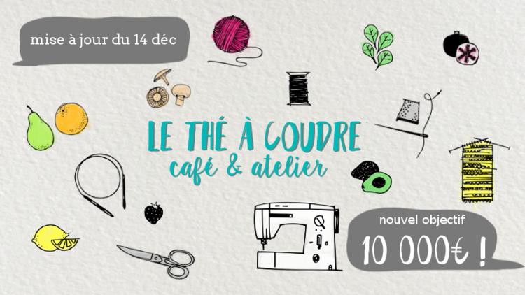 Le thé à coudre : Financement d'un projet de café couture à Grenoble
