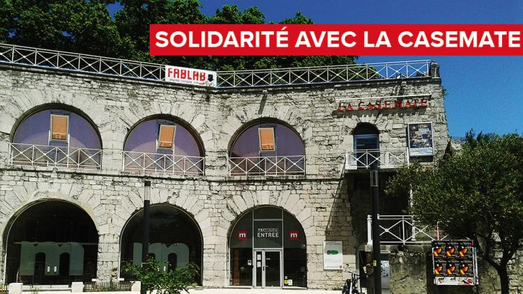 Solidarité avec La Casemate : Pour rebondir rapidement