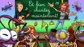 ET BIEN CHANTEZ MAINTENANT! : Réalisation d'un livre disque 100% scolaire