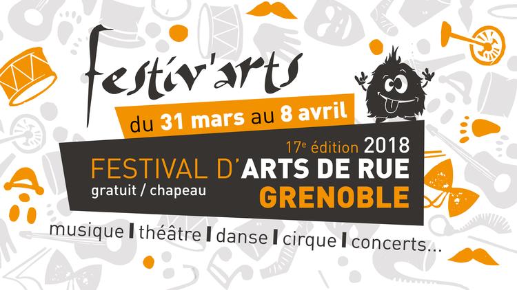 Festiv'Arts 2018 - 17e édition : Festival d'arts de rue à Grenoble