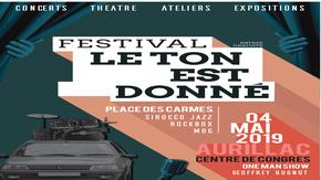 """Festival """"Le Ton Est Donné"""" 3ème éd. : Envie de nous aider à donner le TON ..."""