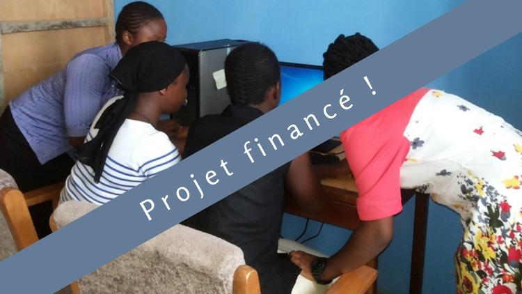 Insertion par le numérique : Acquisition of computers to train young people