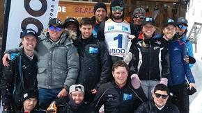 Team France U BPAURA : TEAM France U BPAURA, skions ensemble