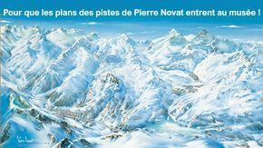 Pierre Novat au musée! : Les plans des pistes de Pierre Novat au musée!