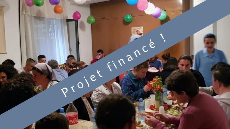 Un réfectoire en Albanie : Un lieu sain pour le repas quotidien