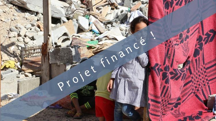 Une maison à rénover : Pour plus de dignité à Gaza