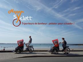 Happy Syklett : Triporteurs de bonheur : pédaler pour s'évader !