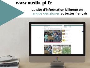 Le média sourd bilingue LSF/ Français : Le média qui prend l'information en main(s)