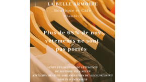 Boutique & Café La Belle Armoire  : Consommons la mode en version éco-responsable