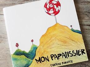 Mon Papatissier : Slow édition d'un livre jeunesse illustré