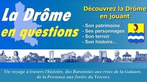 La Drôme en questions :  360 questions pour découvrir la Drôme en jouant