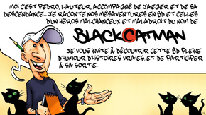 "La BD de ""Black Cat Man"" : Rejoignez les (mes)aventures de Black Cat Man !"