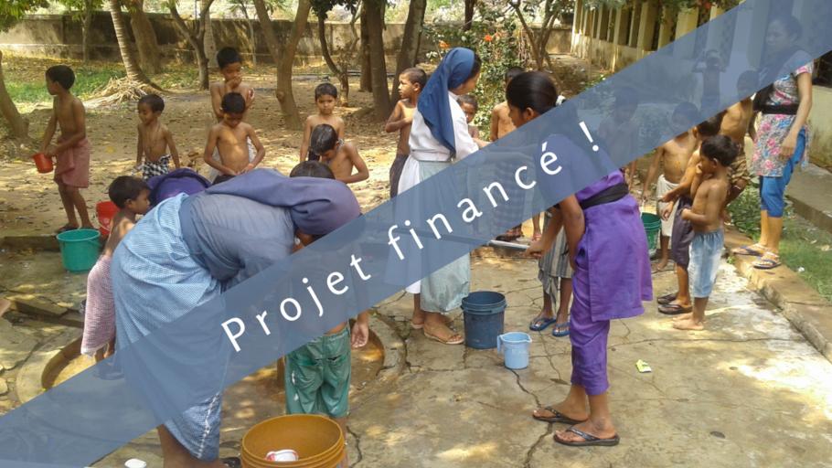 Energie renouvelable en Inde : Un chauffe-eau solaire pour des enfants malades