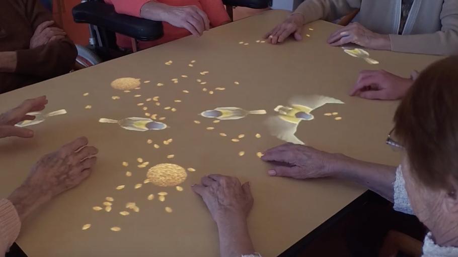 La Table Magique: une échappée belle  : Une parenthèse de bonheur pour les malades âgés