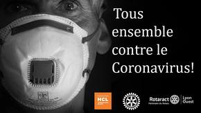 Tous ensemble contre le Coronavirus  : Au profit des personnels hospitaliers