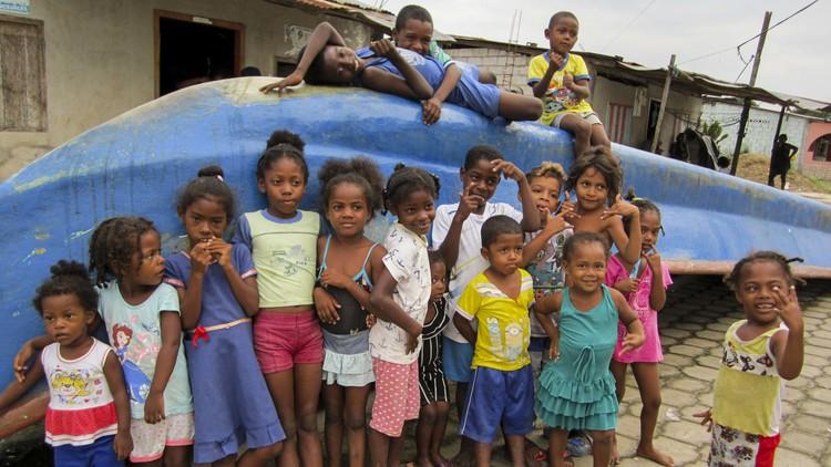 Face à la pandémie en Equateur : Formation à l'hygiène et aide alimentaire