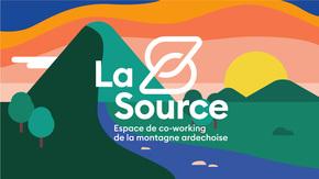La Source : Espace de co-working de la montagne Ardéchoise