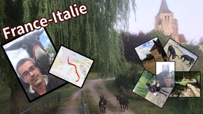 France-Italie avec des Anes : Keep calm and travel