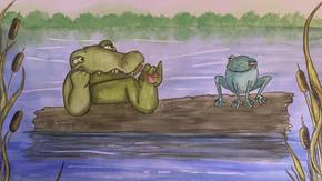 Un Crocodile dans le Rhône : Edition d'une aventure pédagogique au fil de l'eau