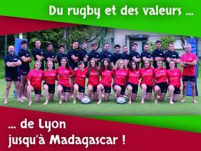 Mêlée solidaire à Madagascar : Rugby social et Développement Durable à Madagascar