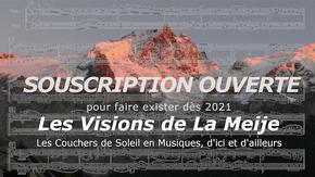 Les Visions de La Meije : Concerts gratuits face à La Meije