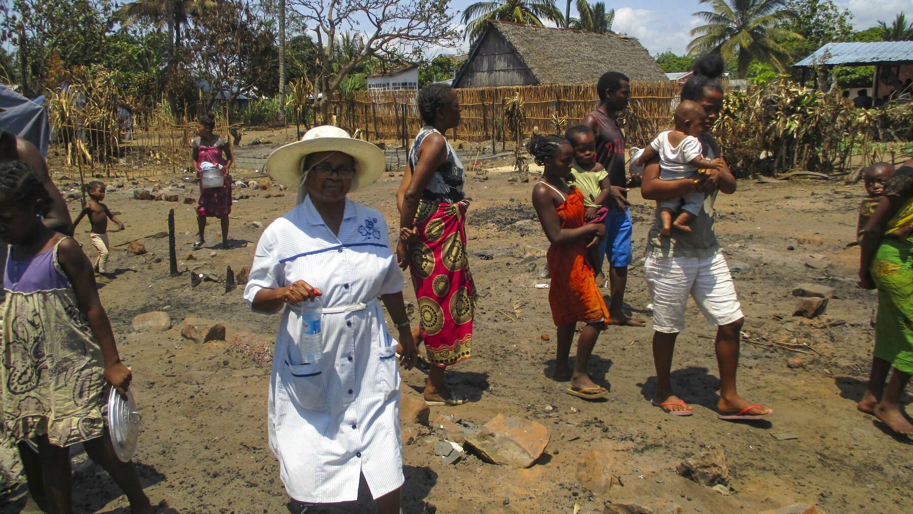Du côté de chez soi : Se reloger après un incendie à Madagascar