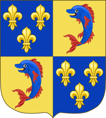 364px arms of the dauphin of france svg