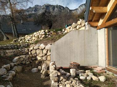 Mur en pierre 15 11 2020