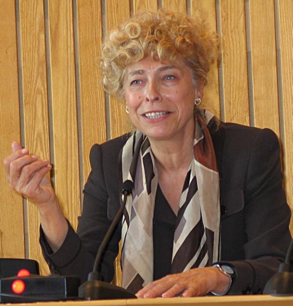 27.04.2004 Gesine Schwan zu Besuch in Düsseldorf