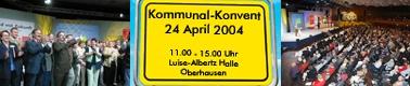 Kommunalkonvent der NRWSPD am 24.04.2004 in Oberhausen