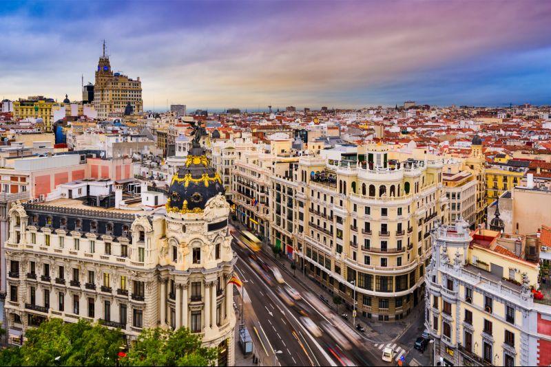 Langes Wochenende in Madrid