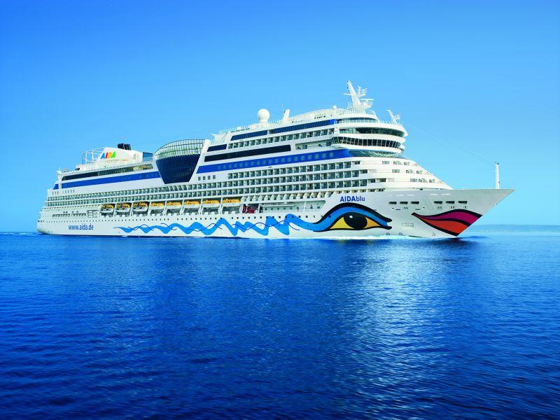 Mittelmeer-Kreuzfahrt mit der AIDAblu zum Kracher-Preis!