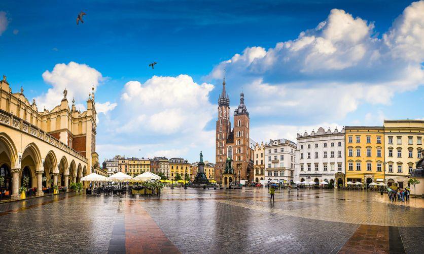 Städtereise ins sommerliche Krakau