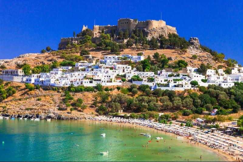 Winterurlaub auf Rhodos: Eine Woche im 4-Sterne-Hotel Kresten Palace