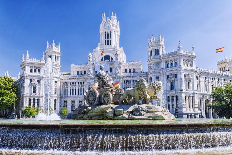Flüge in die spanische Metropole Madrid