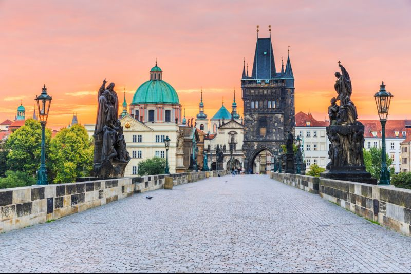 Prag-Flüge im November