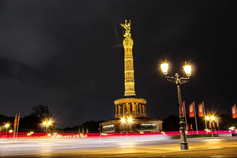 Blue Man Group und Übernachtung in Berlin