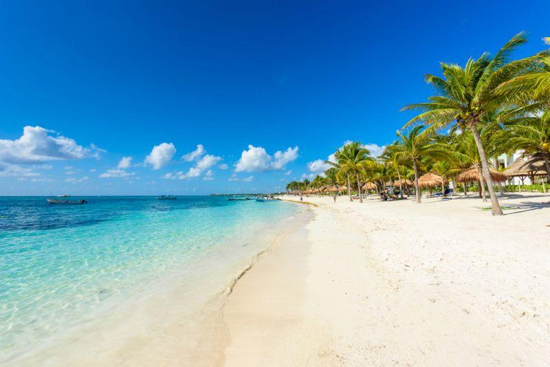 Badeurlaub am Traumstrand von Mexiko