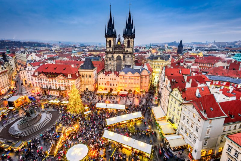 Städtetrip ins weihnachtliche Prag
