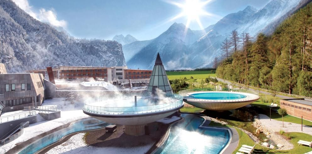 Auszeit im Aqua Dome Hotel & Thermenresort