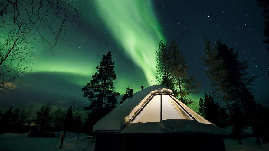 Nordlichttraum in Finnland