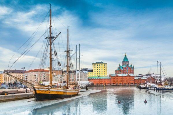 Städtereise ins weihnachtliche Helsinki