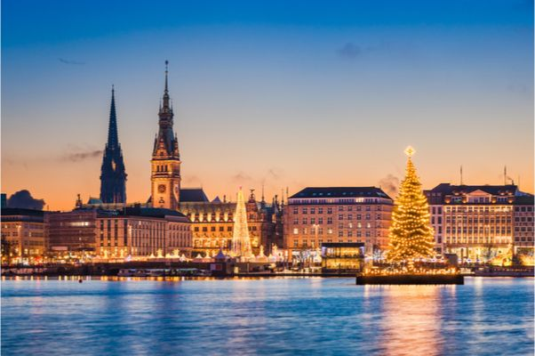 Weihnachtliche Auszeit in Hamburg zum günstigen Preis