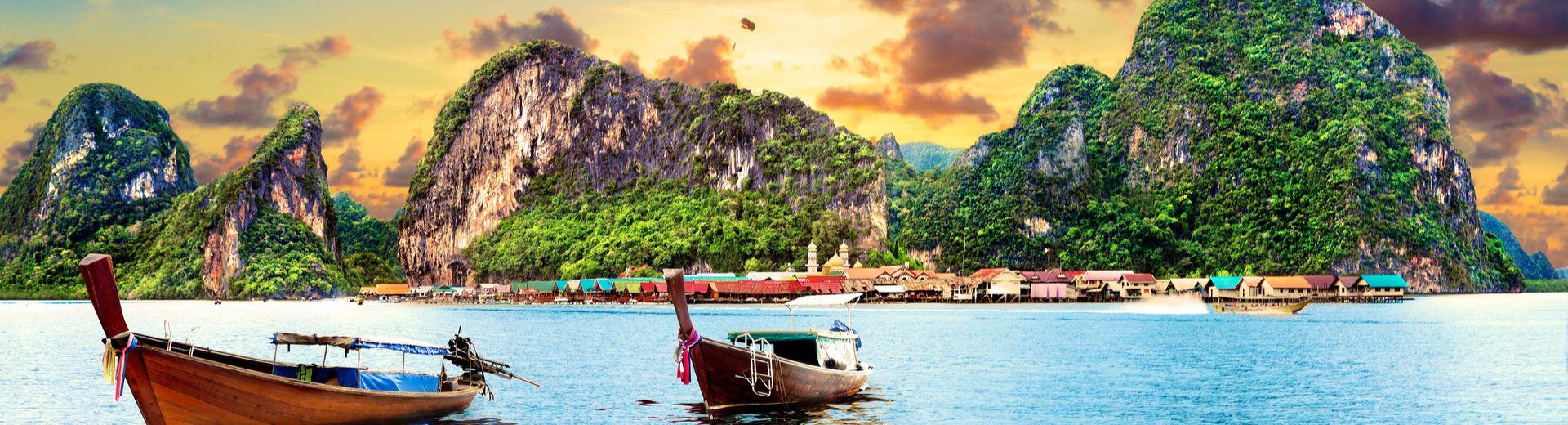 Kombireise: Bangkok & Inselhopping in Süd-Thailand