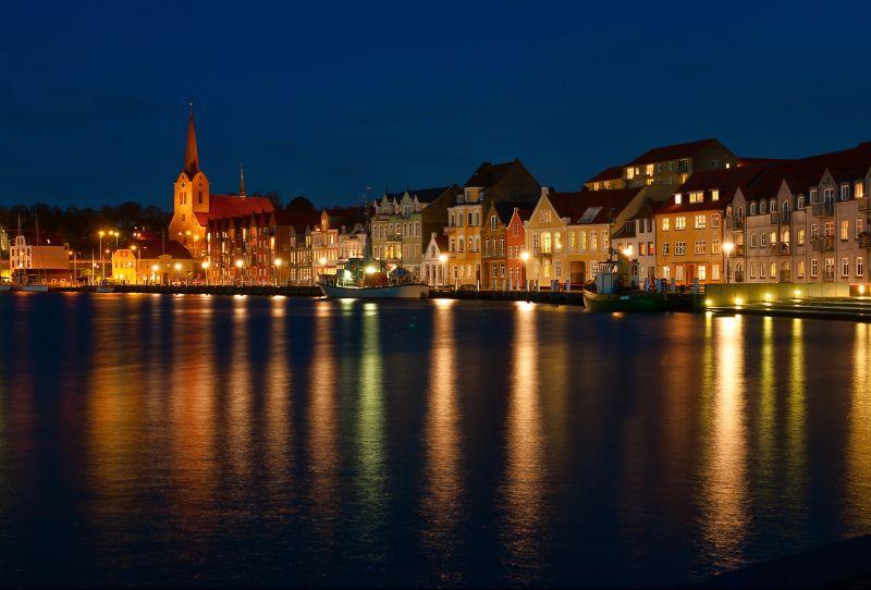 Hausboot in Dänemark