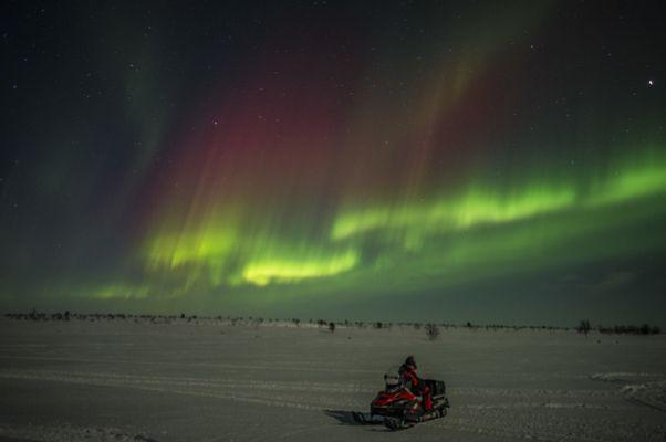 Silvester am Polarkreis