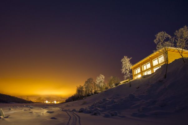 Silvester in Lappland