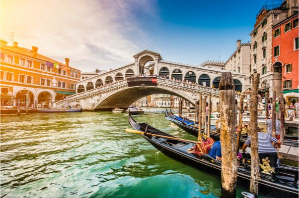 Romantisches Hotel nahe Venedig